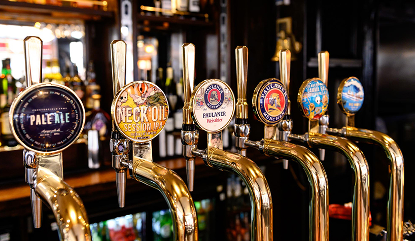 Chesterfield Arms Beers
